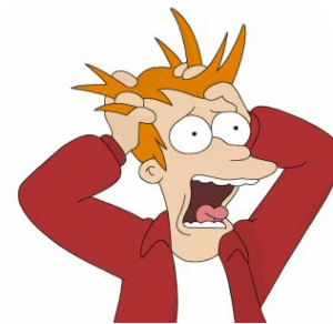 Stressed Fry